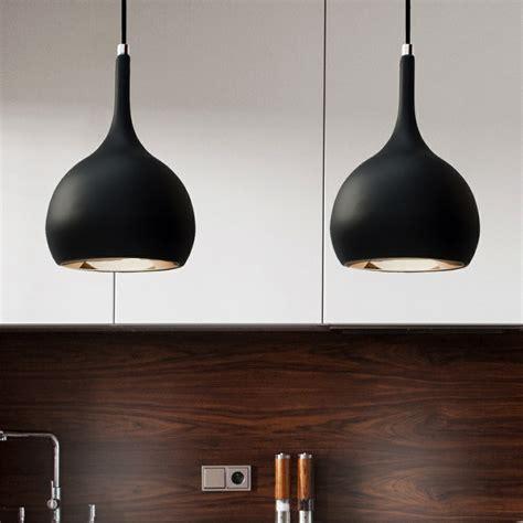 ls plus kitchen pendants kitchen pendant lighting parma black cob led kitchen