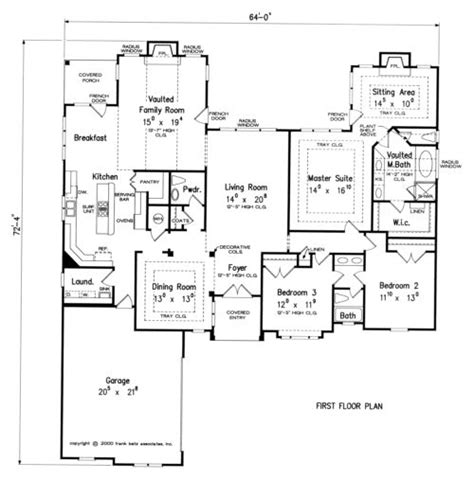 Frank Betz Ranch Floor Plans by Biscayne Home Plans And House Plans By Frank Betz