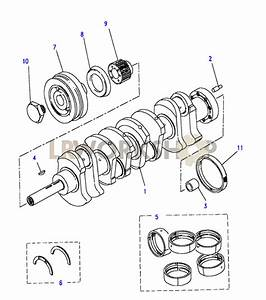 Crankshaft  U0026 Bearings - 2 5 Td