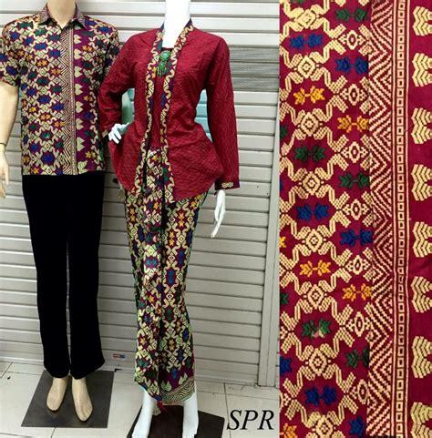 model batik kebaya embos muslim kombinasi modern