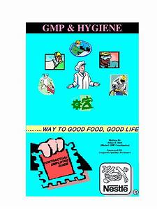 Gmp And Hygiene Manual