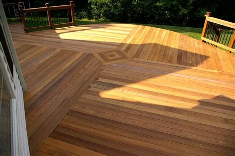 show  woods innate beauty  give  deck  touch