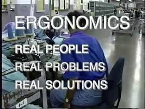 Ergonomics Real People Real Problems Real Solutions OSHA ...