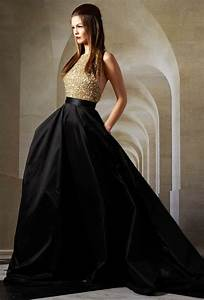 25 astonishing ideas of black wedding dresses the best With black and gold wedding gown