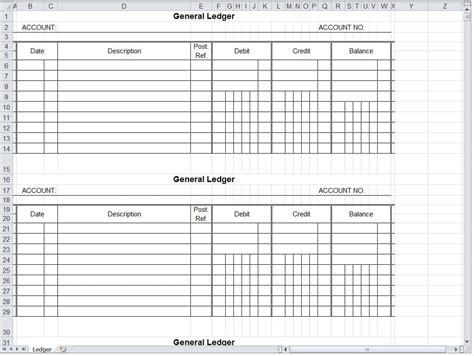 blank accounting spreadsheet excelxocom