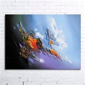 Tableau Peinture Acrylique by Transmission Tableau Abstrait Peinture Acrylique En Relief