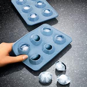 Eiswürfel Ohne Form : oishii xxl eisw rfel form aus silikon f r 6 gro e eiskugeln durchmesser 4 5 cm grau ~ Fotosdekora.club Haus und Dekorationen