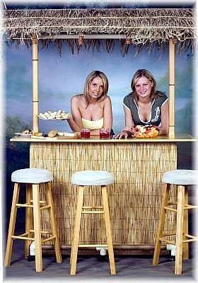 How To Build A Tiki Hut by How To Make A Tiki Hut For A Luau Luau In 2019