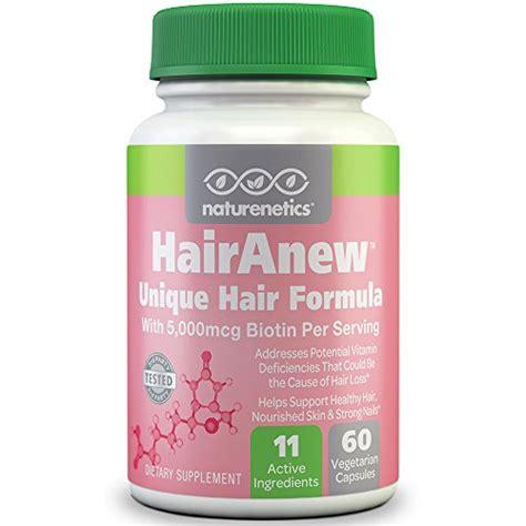 Hairanew (unique Hair Growth Vitamins With Biotin