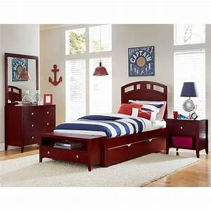Shop, Hillsdale, Pulse, Twin, Arch, Bed, With, Trundle, Cherry, -, Free, Shipping, Today, -, Overstock