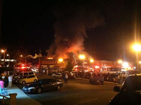 Downtown Woodbury Businesses Damaged In Fire