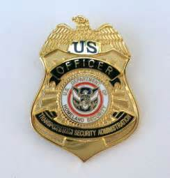 TSA Officer Badge