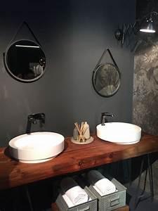 Plan Vasque Bois : plan de travail salle de bain en bois pour tous les styles 20 inspirations ~ Preciouscoupons.com Idées de Décoration