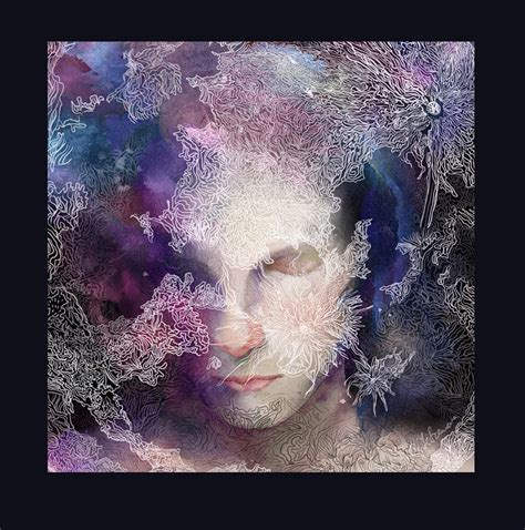 Universe Space Digital Art Sci Fi Album Cover Moon On