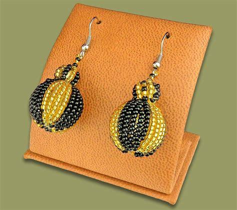 Bobble Earrings earrings bobble bobble earrings gold black