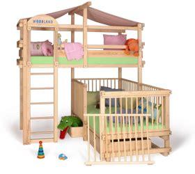 lit superpose avec lit bebe babybett alabama umbaubar sicher 246 kologisch wertvoll