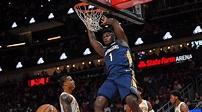 Zion Williamson soars in NBA preseason debut - Sports Illustrated