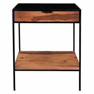 Table De Chevet Wengé : table de chevet devdas d couvrez nos tables de chevet ~ Teatrodelosmanantiales.com Idées de Décoration