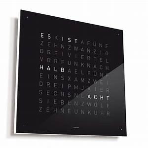 Uhr Mit Worten : qlocktwo von biegert funk bruno wickart blog ~ A.2002-acura-tl-radio.info Haus und Dekorationen