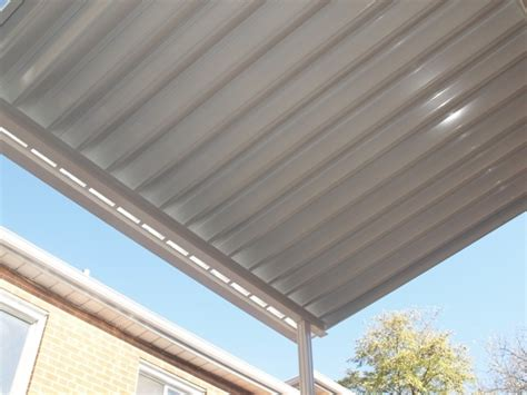 aluminum patio roof panels solid patio covers