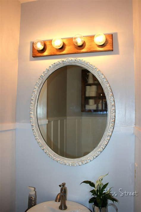 upgraded hollywood vanity light fixture strip  wood