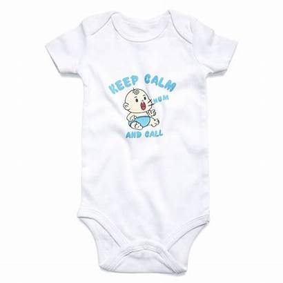 Clothes Funny Boy Call Calm Unisex Newborn