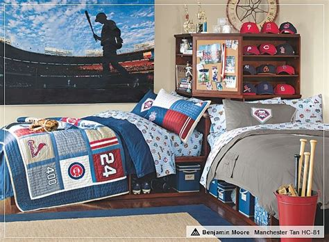 baseball bedroom ideas love the baseball theme kid s rooms that are too cute 10174 | e5381d873915224cef4a6dabe718596b boy sports bedroom boys sports rooms