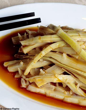 les pousses de bambou un atout sant 233