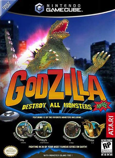 godzilla destroy  monsters melee