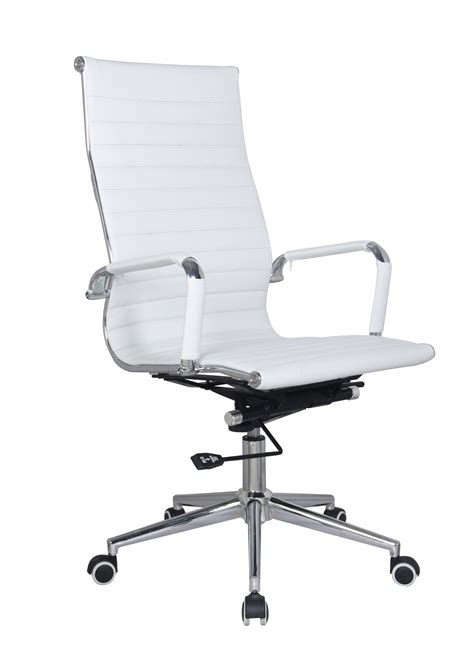 classic eames high back chair white oxford office