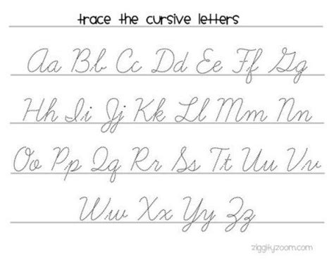 25+ Best Ideas About Cursive Writing Worksheets On Pinterest  Cursive Handwriting Practice