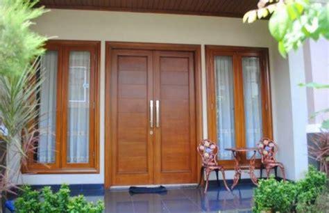 model daun pintu dobel minimalis keren