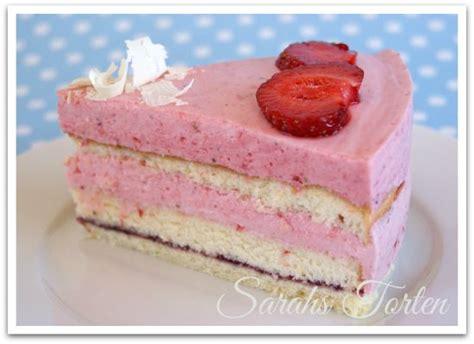 Sarahs Torten Und Cupcakes Ein Echter Klassiker Erdbeer