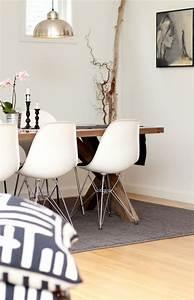design salle a manger de style campagne chic et rustique With salle À manger contemporaine avec meubles style scandinave bois