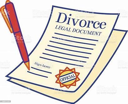 Divorce Papers Clipart Clip Illustrations Cartoons Paper