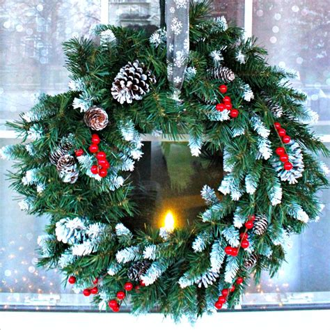 add wintry front porch decor  christmas