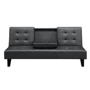 futons at sears cupholder futon enjoy comfort and convenience with sears