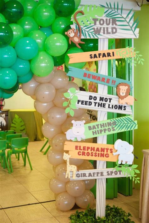 Animal Safari Birthday Party  Birthday Banners Safari
