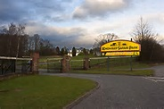 The entrance to Knowsley Safari Park © Ian Greig cc-by-sa ...