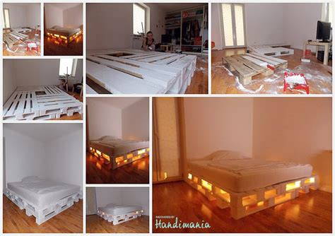 Europaletten Bett Weiß by Bett Aus Europaletten Einfach K