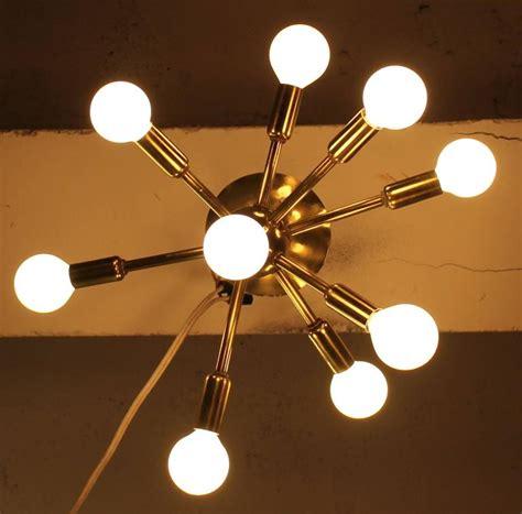 mid century modern ceiling light sputnik ceiling light mid century modern at 1stdibs