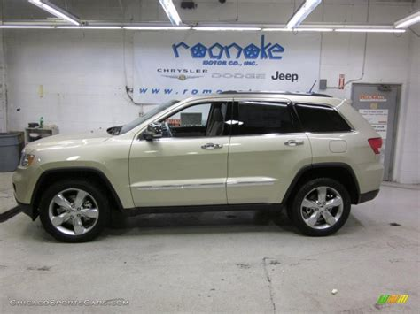 beige jeep grand 2011 jeep grand cherokee limited 4x4 in white gold