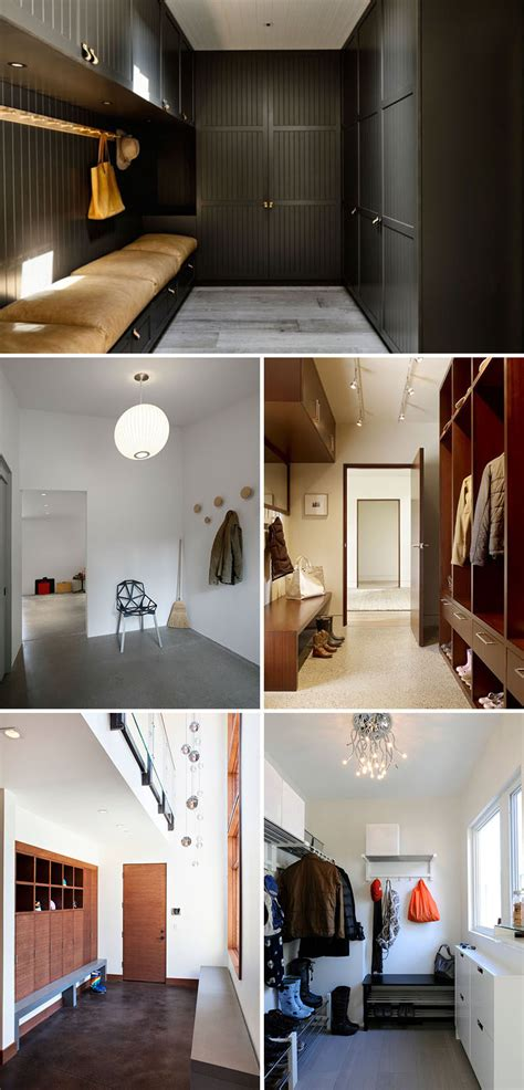 modern mudrooms  inspire     home clean