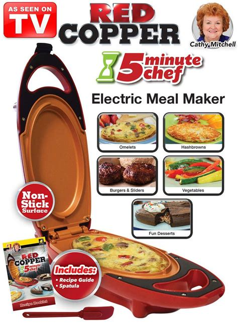 red copper  minute chef recipe book donkeytimeorg