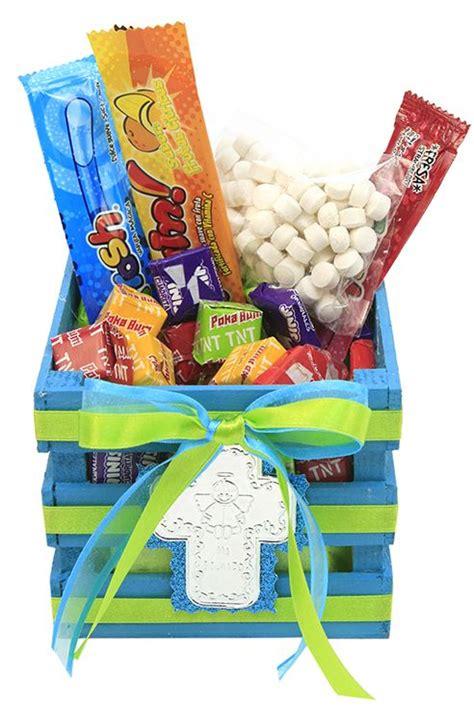 dulcero bautizo ni 241 o o ni 241 a caja de madera color azul con dulces bautizo