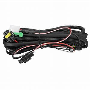 H11 Fog Light Wiring Harness Sockets Wire   Led Indicators