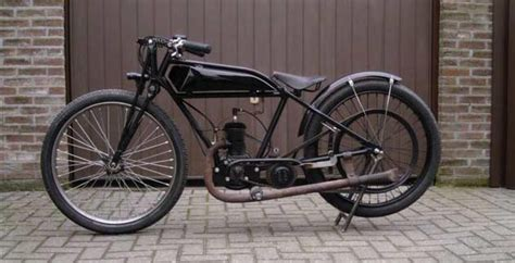 1920s Belt Drive French Motorcycle Reproduction Replica