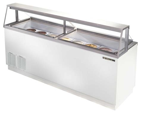 used ice cream dipping cabinet true tdc 87 16 flavor ice cream dipping cabinet holds 28