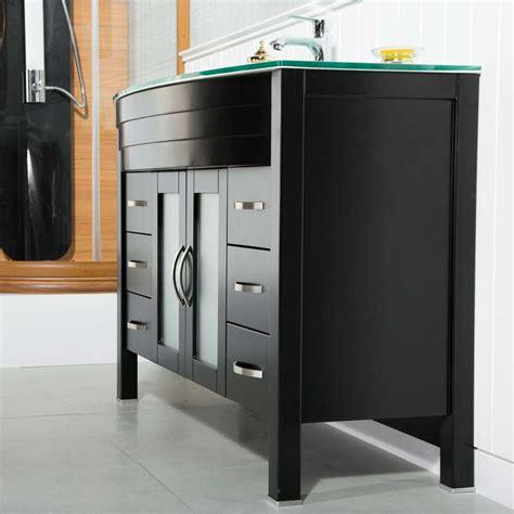 jersey city 48 inch black bathroom cabinet