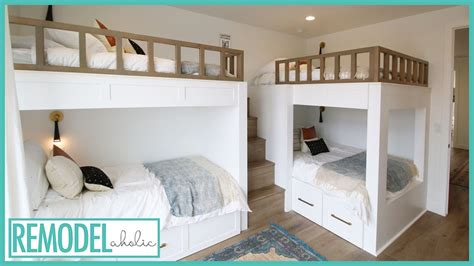 cool bunk bed room ideas  kids room tours youtube